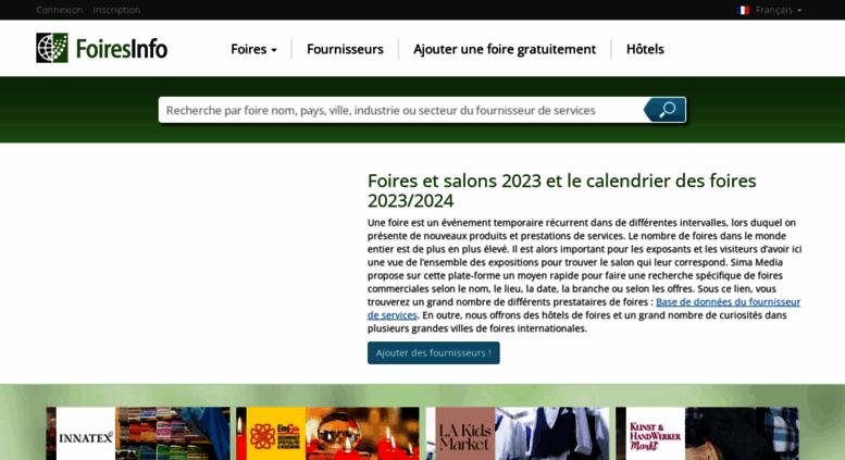Access foires et salons 2017 2018 - Calendrier des salons ...