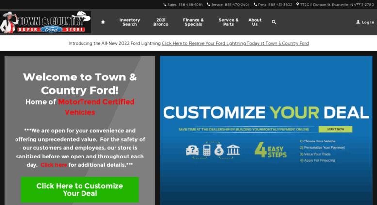 Ford Dealership Evansville >> Access Fordevansville Com New Ford Dealership In Evansville In