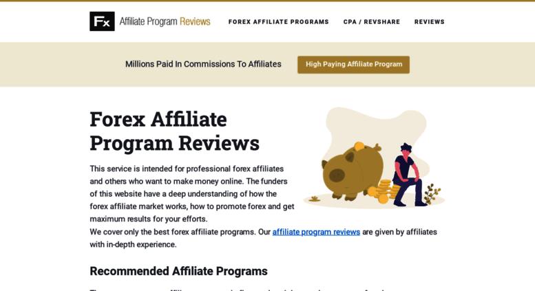 Forex affiliate program reviews forex заработок с нуля