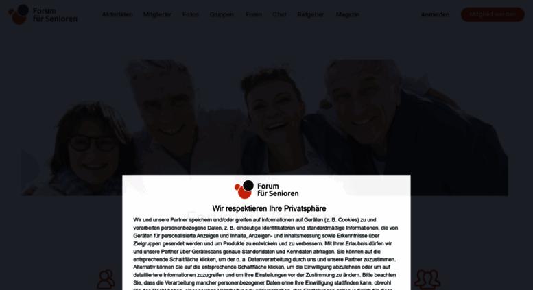 Get look De Senioren Forum Fuer why these
