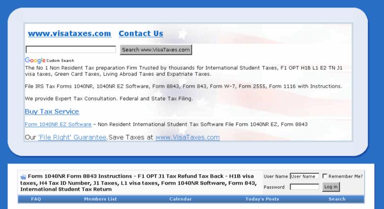 Access Forumsataxes Forumsataxes Save Taxes On H1b