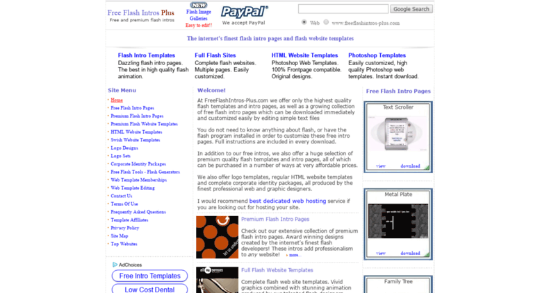 Access freeflashintros plus free flash intros plus freeflashintros plus screenshot maxwellsz