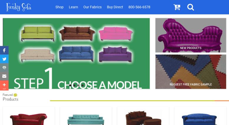 Marvelous Custom Sofa Manufacturer | FunkySofa.com