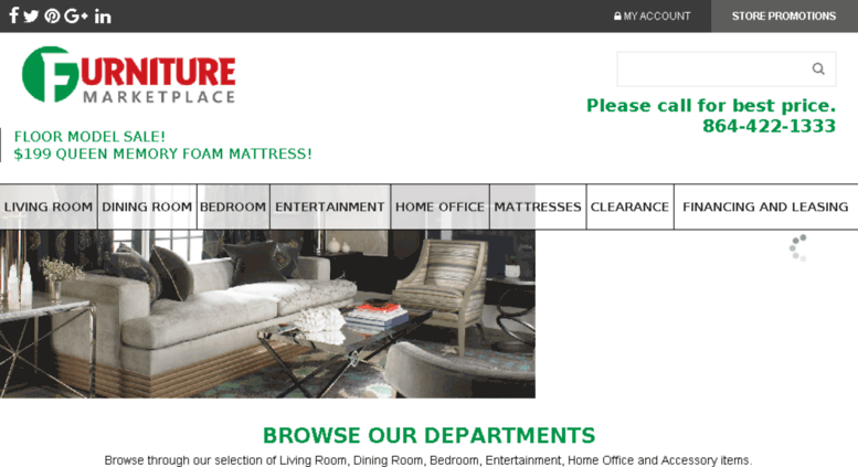 Furnituremarketplaceonline.com Screenshot