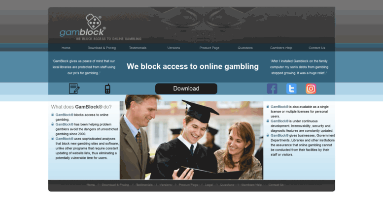 Block access to online gambling number 1 casino in ms us