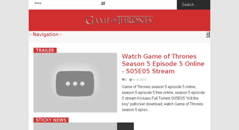 kickass torrent game of thrones season 5