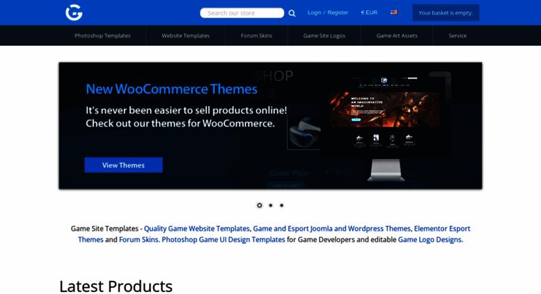Access gamesitetemplates.com. Game Site Templates - Professional ...
