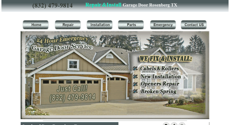Access Garagedoor Rosenbergtx.com. Garage Door Opener | Repair And Install Overhead  Door | Rosenberg TX