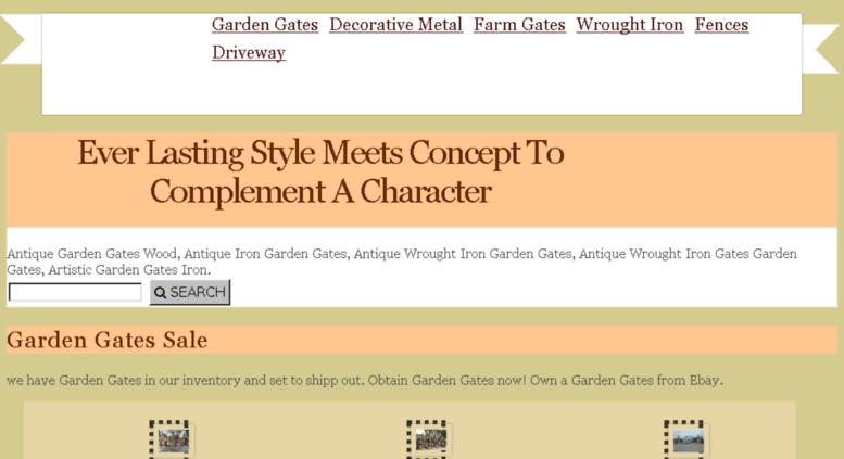 Gardenarborgate.com Screenshot