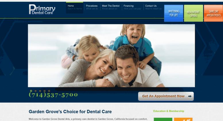 garden grove dental. Access Gardengrovedentalarts.com. Garden Grove Dental Arts | Walk In\u0027s Welcome