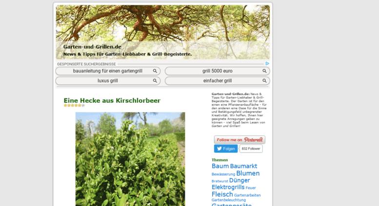 Garten Und Grillen.de Screenshot