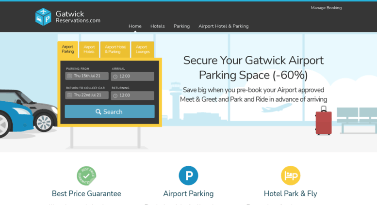 Access gatwickreservations gatwick airport parking gatwick gatwickreservations screenshot m4hsunfo