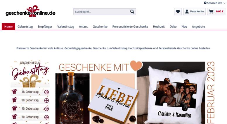 Geburtstagsgeschenke online