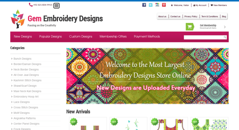 Access Gemembroiderydesigns Gem Embroidery Designs Online