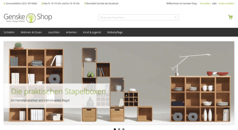 Genske Shop.de Screenshot