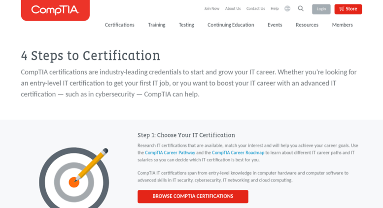 Access Getcertified It Careers For Professionals Comptia It