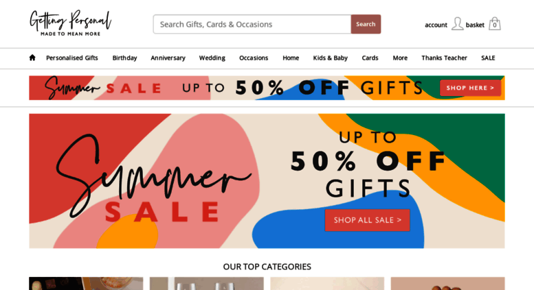 Access Gettingpersonal Personalised Gifts Fast Uk Delivery