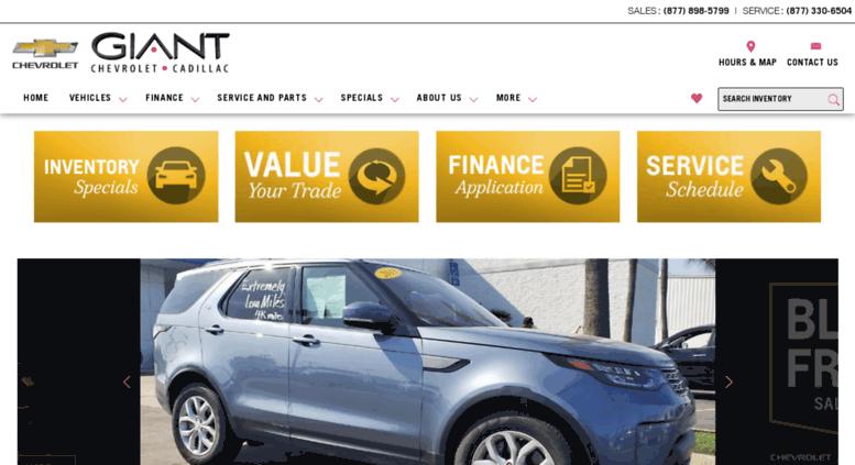 access giantautomotive com near fresno giant chevrolet cadillac