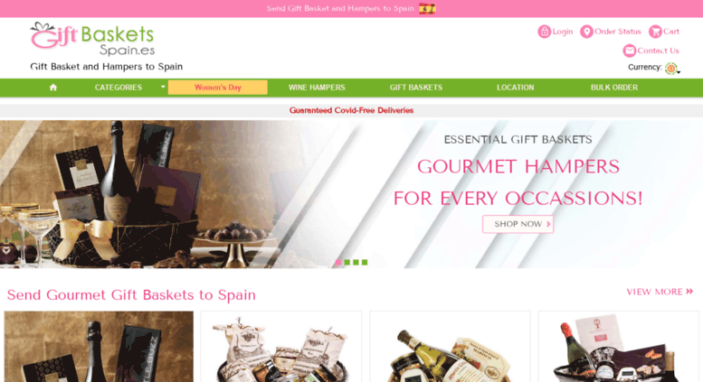Access Giftbasketsspaines Send Gifts Hampers 2018 Gift Baskets To Spain Cheap Delivery