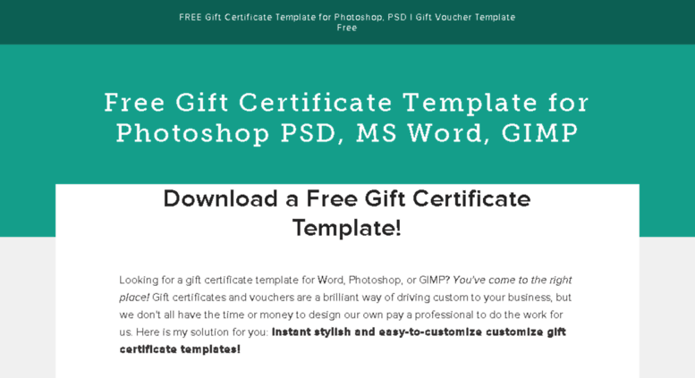 Access Giftcertificatetemplatesfree Free Gift Certificate