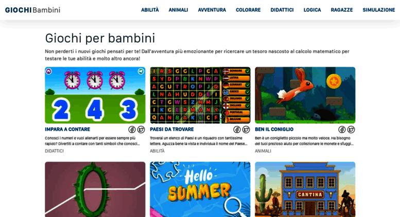 Access Giochi Bambiniit Giochi Per Bambini Gratis Online Animali