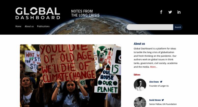 Access Globaldashboard Global Dashboard Blog Covering