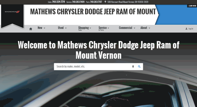 Access Goetzmanchryslerdodge Com Mathews Chrysler Dodge Jeep Ram Of