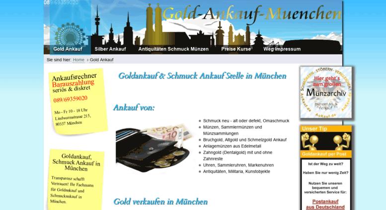 Access Gold Ankauf Muenchende Goldankauf Schmuck Ankauf In München