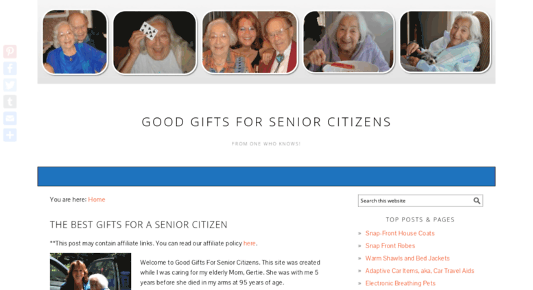 goodgiftsforseniorcitizenscom screenshot