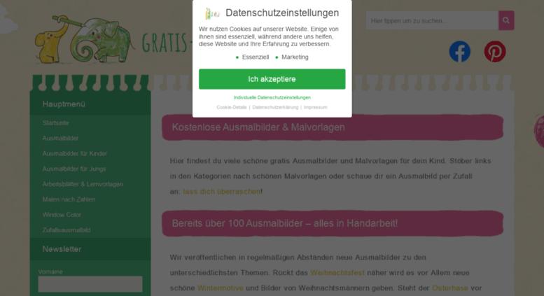 Access gratis-malvorlagen.de. kostenlose Ausmalbilder & Malvorlagen ...
