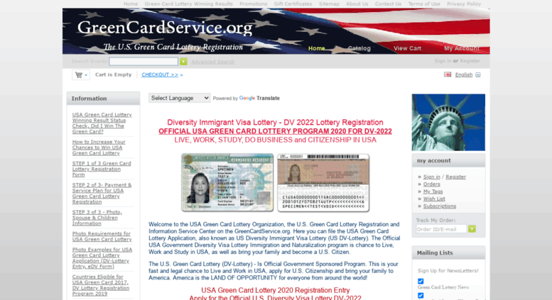 Access greencardservice official us green card lottery 2018 greencardservice screenshot reheart Image collections