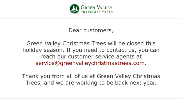 greenvalleychristmastreescom screenshot