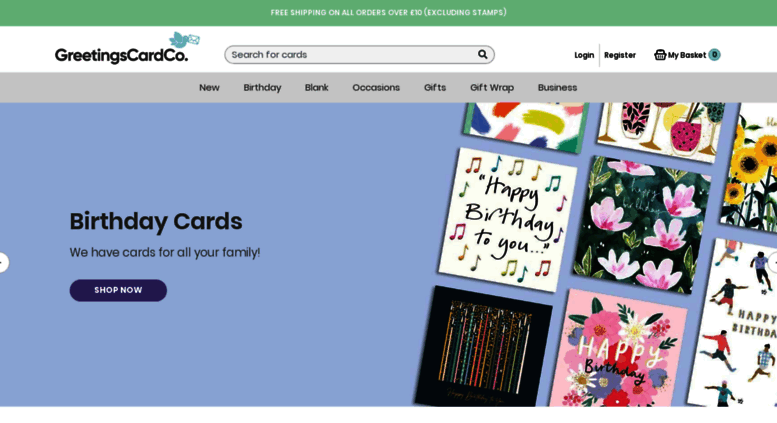 Access greetingscards buy greetings cards online greetings greetingscards screenshot m4hsunfo
