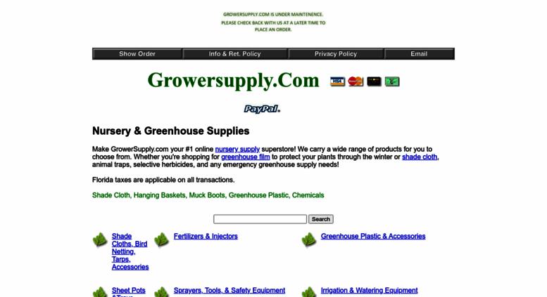 Growersupply Screenshot