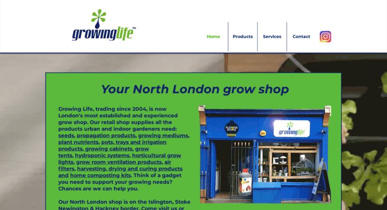 Hydroponics Grow Shop North East London | Grow Tents | Hackney | Islington | UK  sc 1 st  Accessify & Access growing-life.com. Hydroponics Grow Shop North East London ...