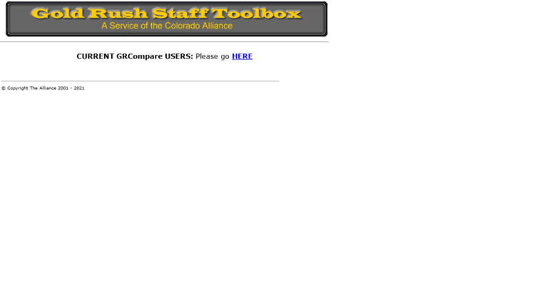 Access Grstaff Coalliance Org Gold Rush Staff Toolbox