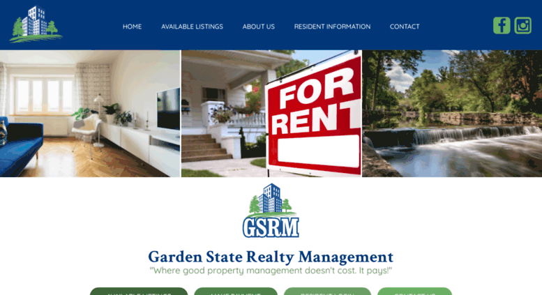 Access gs-rm.com. GSRM