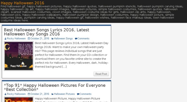 Access halloweenday2015images.com. Happy Halloween 2016: Images ...