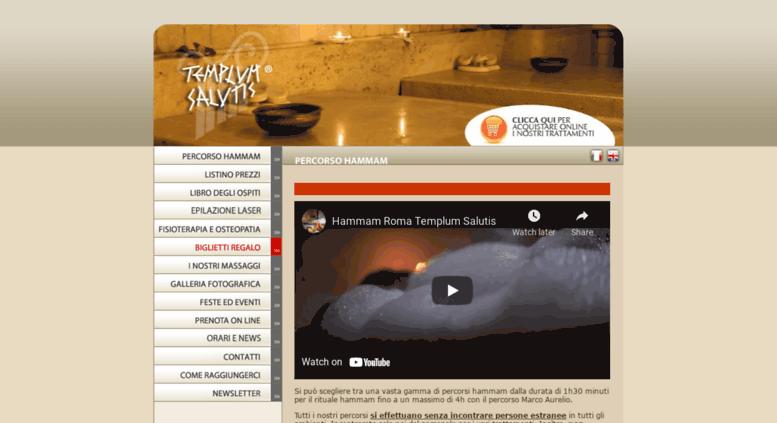 Access hammamroma.com. Hammam Roma, Massaggi Roma, Sauna Roma, Bagno ...