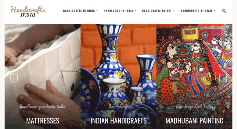 Access Handicraftsindia Org Handicrafts In India Handlooms In