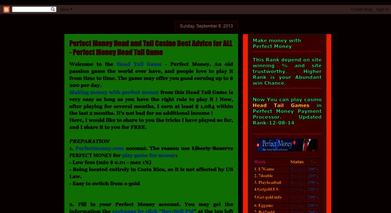 casino game links.htm online