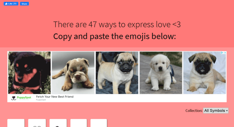 Copy Heart Symbol Images Meaning Of Text Symbols