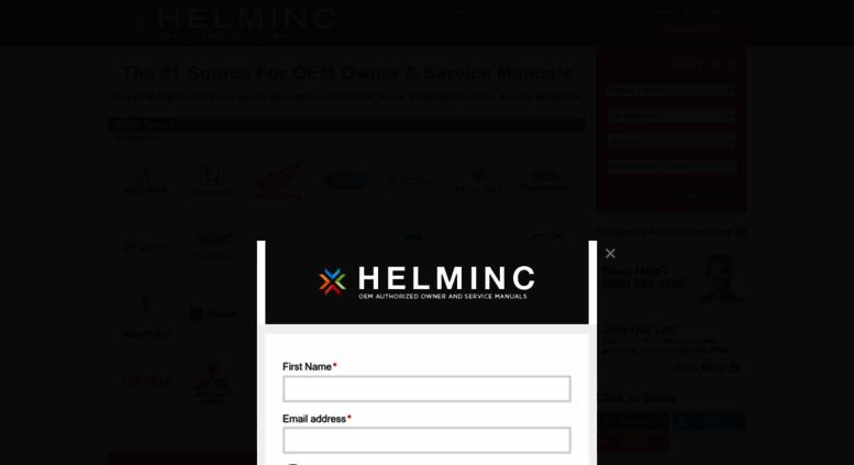 access helminc com owner manuals service manuals wiring diagrams rh accessify com helminc service manual helminc.com service manuals