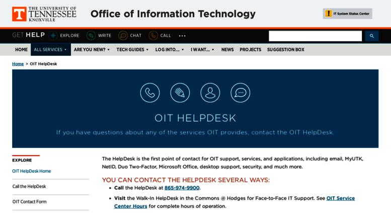 Access Helpdesk Utk Edu Oit Helpdesk Office Of Information Technology Rh  Accessify Com Oit Help Desk Auburn Oit Help Desk Auburn