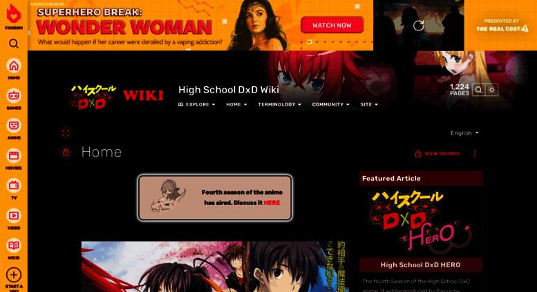 high school dxd wiki
