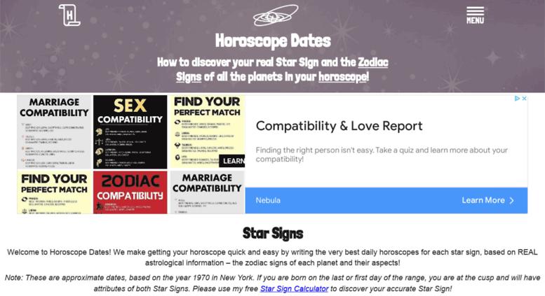 Access Horoscopedates Horoscope Dates Discover What The 12