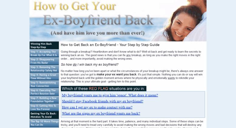 how to win my boyfriend back