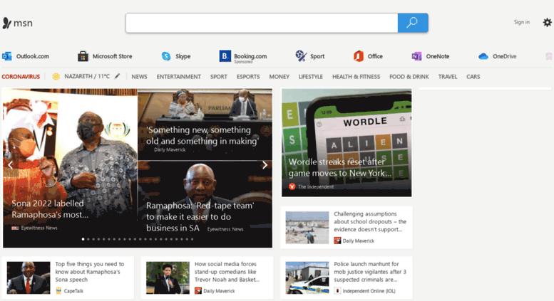 access howzitmsncom msn outlook office skype bing