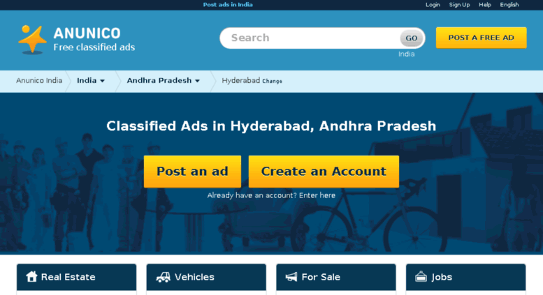 free ads in hyderabad