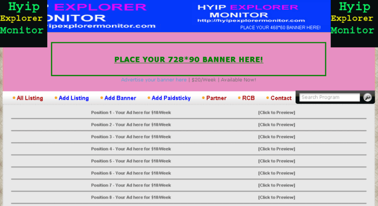 Best hyip list